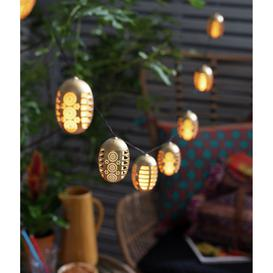 image-Habitat 10 Dancing Flame Solar String Lights