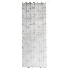 image-Darice Tab Top Sheer Curtain Lily Manor Colour: Light grey