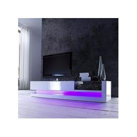 image-Twist High Gloss Plasma Tv Cabinet With Multi Led Lights