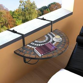 image-Aranda Folding Iron Balcony Table Sol 72 Outdoor