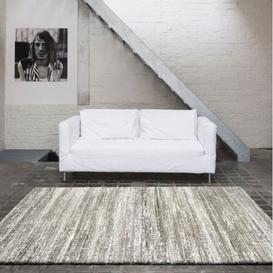 image-Mehari Striped Beige Rug 133cm x 195cm