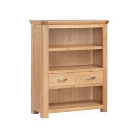 image-Treviso Oak Low Bookcase