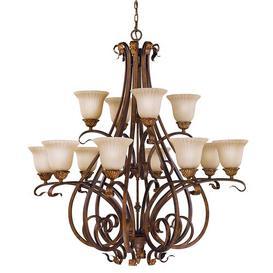 image-Balsam 12-Light Shaded Chandelier Astoria Grand