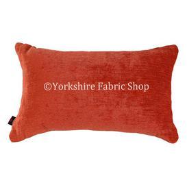 image-Sorento Cushion with Filling Yorkshire Fabric Shop Colour: Orange
