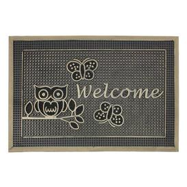 image-Morganton Pin Boot Trays & Scraper Happy Larry Mat Size: 0.5cm H x 60cm L x 40cm W