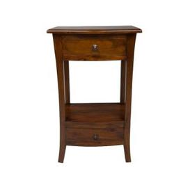 image-Ancient Mariner Pacific Mahogany 2 Drawer Telephone Table