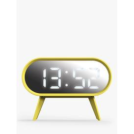 image-Space Hotel Cyborg LED Digital Alarm Clock, Yellow