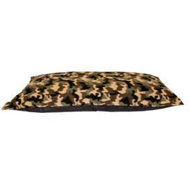 image-Merced Pillow in Green/Beige Archie & Oscar Size: 20cm H x 146cm W x 90cm D