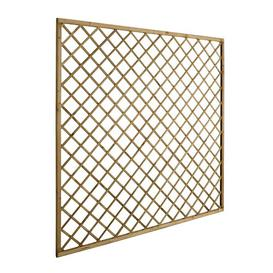 image-Devin Wood Lattice Panel Trellis (Set of 3) Sol 72 Outdoor Size: 180cm H x 180cm W