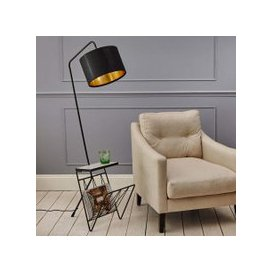 image-Magazine Rack Floor Lamp
