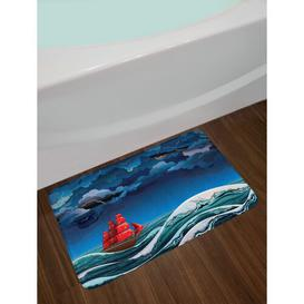 image-Rolando Rectangle Bath Mat Longshore Tides