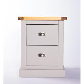 image-Candleick 2 Drawer Bedside Table Brambly Cottage