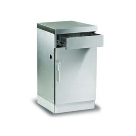 image-BeefEater Discovery 1100 Outdoor Kitchen Stainless Steel Cabinet with Drawer