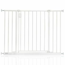 image-Bella Vista Pressure Mounted Pet Gate Archie & Oscar Colour: White, Size: 97cm-103cm
