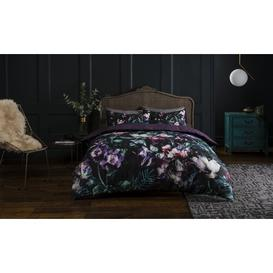 image-Opulent Floral Egyptian Quality Cotton Duvet Cover Set SLEEPDOWN Size: King - 2 Pillowcases (74 x 48cm)