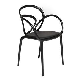 image-Qeeboo - Loop Outdoor Chair - Black