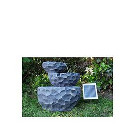 image-Streetwize Accessories Solar Powered Layer Water Fountain