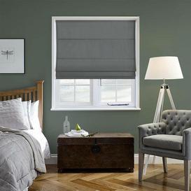 image-Ambassador Room Darkening Roman Blind Ebern Designs Size: 40 cm W x 40 cm L, Colour: Black