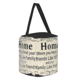 image-Fakenham Home Where You Treat Friends Like Family and Family Like Friends Fabric Draught Excluder Brambly Cottage