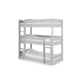image-Harper Grey Triple Bunk Bed Single
