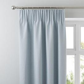 image-Hayden Duck-Egg Pencil Pleat Curtains Duck Egg (Blue)