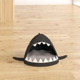 image-Shark Cat Bed Archie & Oscar Colour: Anthracite