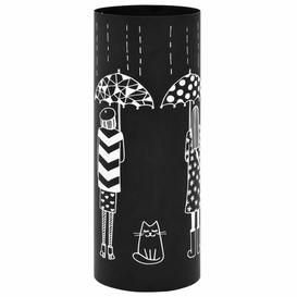 image-Tristan Umbrella Stand Mercury Row Colour: Black