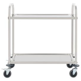 image-2-Tier Stainless Steel Serving Cart Symple Stuff