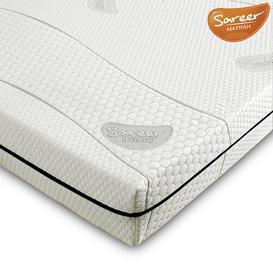 image-Sareer Matrah Memory Foam Mattress Sareer Size: Double (4'6)