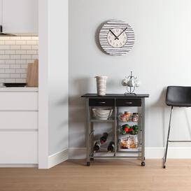 image-Kitchen Trolley Symple Stuff Counter Colour: Black
