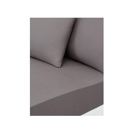 image-Essentials Collection 144 Thread Count 25 Cm Deep Fitted Sheet