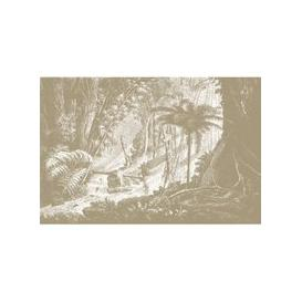 image-Amazonia Wall Mural (colour: Tan, size: Large (450w x 300h))