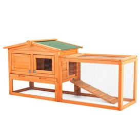 image-Penzance Weather Resistant Rabbit Hutch with Ramp