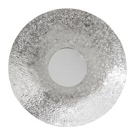 image-Luxe - Hammered Silver Wall Mirror