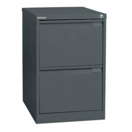 image-2-Drawer Filing Cabinet Symple Stuff Finish: Anthracite