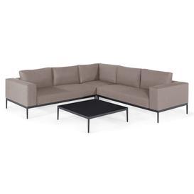 image-Maze Lounge Outdoor Eve Taupe Fabric Corner Sofa Group