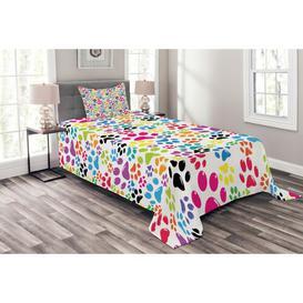 image-Frady Dog Bedspread Set with Cushion Cover Ebern Designs Size: W175 x L220cm