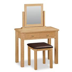 image-Ezio Dressing Table Set with Mirror Gracie Oaks