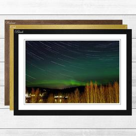 image-Aurora Borealis the Northern Lights Landscape (1) Framed Photographic Print Big Box Art