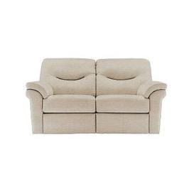 image-G Plan - Washington 2 Seater Fabric Power Recliner Sofa