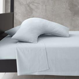 image-Priscilla V-Shape Pillowcase Zipcode Design Colour: Sky Blue