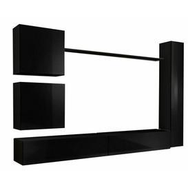 "image-Brody Entertainment Unit for TVs up to 43\"" Metro Lane Colour: Black"