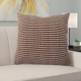 image-Alpine Cushion with filling Ebern Designs Size: Medium, Colour: Brown