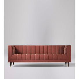 image-Swoon Willem Three-Seater Sofa in Jet Cord