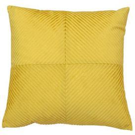 image-Paoletti Infinity Honey Textured Cushion Yellow