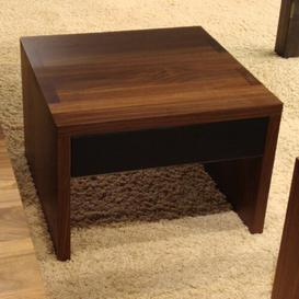 image-Marks Coffee Table with Magazine Rack Ebern Designs Wood Type: Cherry, Finish: Oiled