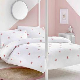 image-Appletree Kids Tufted Star Duvet Cover Set Pink