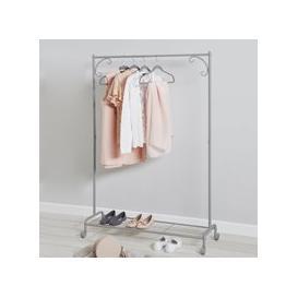 image-Grey Clothes Rail Grey