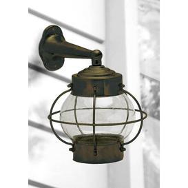 image-Boyette Outdoor Wall Lantern Breakwater Bay Fixture Finish: Black Oxide