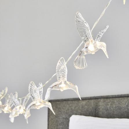 image-Hummingbird 10 Light String Lights Clear